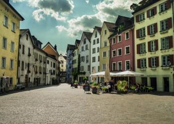 Alpenstadt Chur